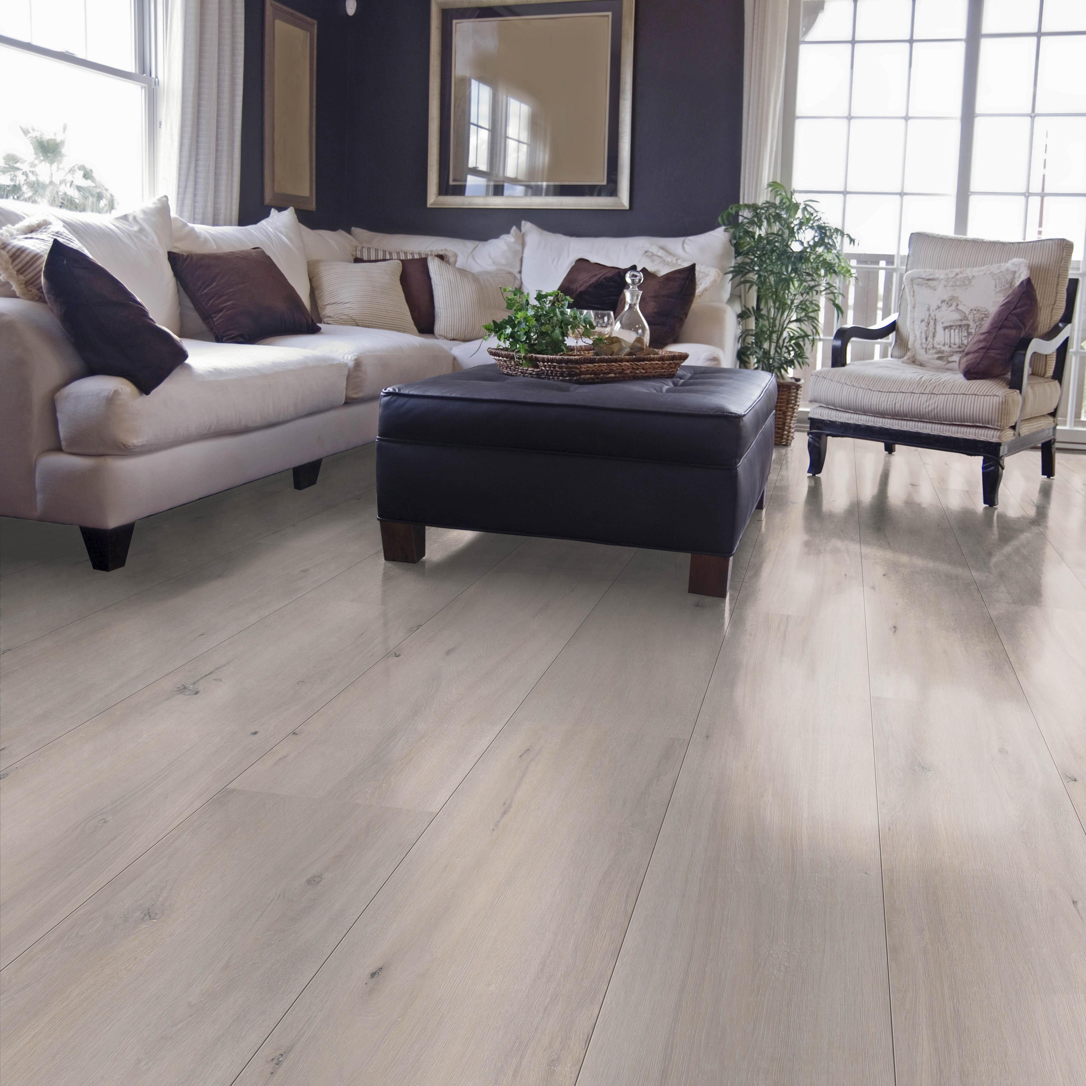 Floor Types Home Laminate 8 Mm Oak Whitewashed Light